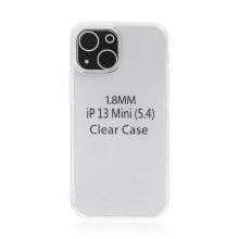 Kryt pro Apple iPhone 13 mini - gumový - průhledný