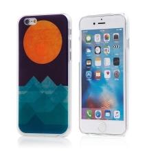 Kryt pro Apple iPhone 6 / 6S - plastový - hory a slunce