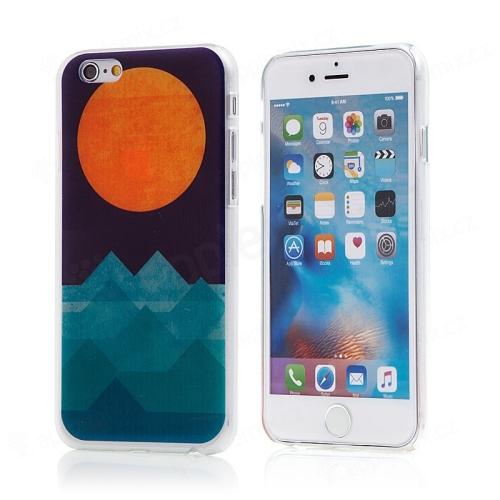 Kryt pro Apple iPhone 6   6S - plastový - hory a slunce  7ea4765bc39