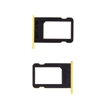 Rámeček / šuplík na Nano SIM pro Apple iPhone 5C - žlutý - kvalita A+