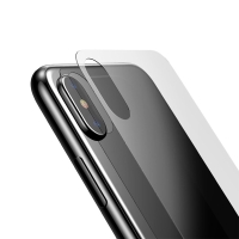 Tvrzené sklo (Tempered Glass) BASEUS pro Apple iPhone X - na zadní část - 2,5D hrana - čiré - 0,3mm