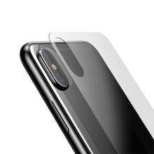 Tvrzené sklo (Tempered Glass) BASEUS pro Apple iPhone X / Xs - na zadní část - 2,5D hrana - čiré - 0,3mm
