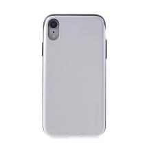 Kryt MERCURY Sky slide pro Apple iPhone Xr - prostor pro platební karty - plastový / gumový