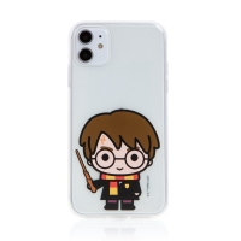 Kryt Harry Potter pro Apple iPhone 11 - gumový - Harry Potter - průhledný