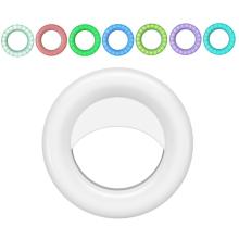 RGB LED světlo (Selfie ring light) - kruhové - na streamování