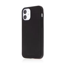 Kryt MERCURY Soft Feeling pro Apple iPhone 12 mini - silikonový - černý