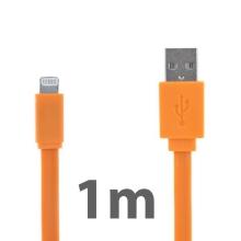 Synchronizační a nabíjecí kabel Lightning pro Apple iPhone / iPad / iPod - noodle style