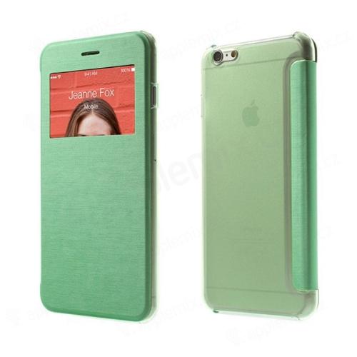 Flipové pouzdro pro Apple iPhone 6 Plus / 6S Plus s průhledným prvkem / výřezem pro displej