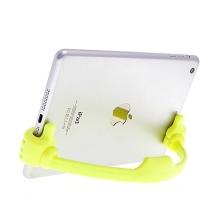 Flexibilní stojánek ruce pro Apple iPhone / iPad mini / iPod touch - žlutý