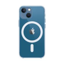 Originální kryt pro Apple iPhone 13 mini - Clear Case - podpora MagSafe - plastový - průhledný