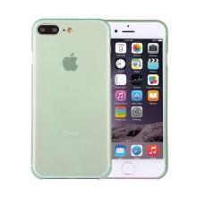 Kryt / obal pro Apple iPhone 7 Plus / 8 Plus chrana čočky - plastový / tenký - zelený
