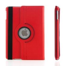 Pouzdro pro Apple iPad Air 1.gen. - 360° otočný držák / stojánek - červené