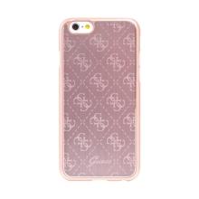 Kryt GUESS G pro Apple iPhone 6 / 6S - plast / hliník - Rose Gold růžový