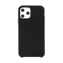 Kryt pro Apple iPhone 11 Pro Max - gumový - příjemný na dotek - černý