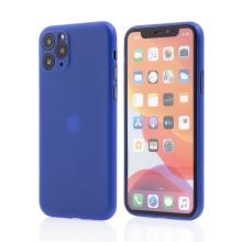 Kryt pro Apple iPhone 11 Pro Max  - s prvkem pro ochranu skla kamery - plastový - modrý