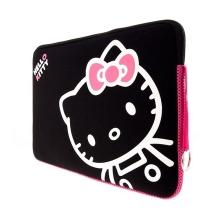 Pouzdro pro Apple MacBook 13.3 - Hello Kitty - černé
