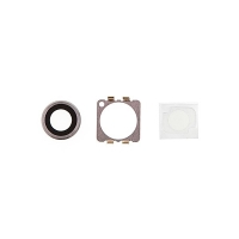Krycí sklíčko zadní kamery Apple iPhone 6 / 6S - stříbrné - kvalita A