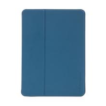 Pouzdro / kryt X-LEVEL pro Apple iPad mini 4 / 5 - chytré uspání + slot pro Pencil - gumové - modré