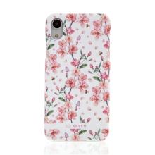 Kryt SO SEVEN Tokyo pro Apple iPhone Xr - plastový - kvetoucí sakury / bílý