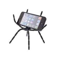 Univerzální flexibilní stojánek / držák spider pro Apple iPhone / iPod a podobná zařízení - černý