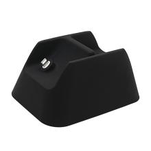Stojánek pro Apple AirPods Max - prostor pro vložení kabelu Lightning - silikonový - černý