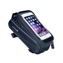 Sportovní pouzdro na kolo SWISSTEN pro Apple iPhone včetně velikostí Plus a Max - bez kšiltu - černé