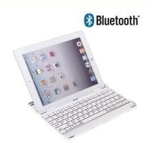 Mobilní klávesnice bluetooth pro Apple iPad 2. / 3. / 4.gen. - bílo-stříbrná