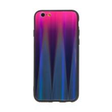 Kryt pro Apple iPhone 7 / 8 / SE (2020) - barevný přechod a lesklý efekt - gumový / skleněný