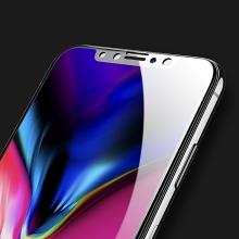 Tvrzené sklo (Tempered Glass) USAMS pro Apple iPhone X - na přední stranu - 3D hrana - černý okraj - 0,33mm