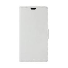 Pouzdro pro Apple iPhone Xs Max - stojánek + prostor pro platební karty - umělá kůže - bílé