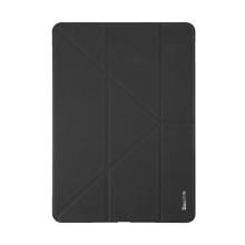 Pouzdro BASEUS pro Apple iPad Pro 12,9 / Pro 12,9 (2017) - funkce chytrého uspání + stojánek - černé