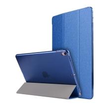 Pouzdro / kryt pro Apple iPad Pro 10,5 - funkce chytrého uspání + stojánek - elegantní textura - modré