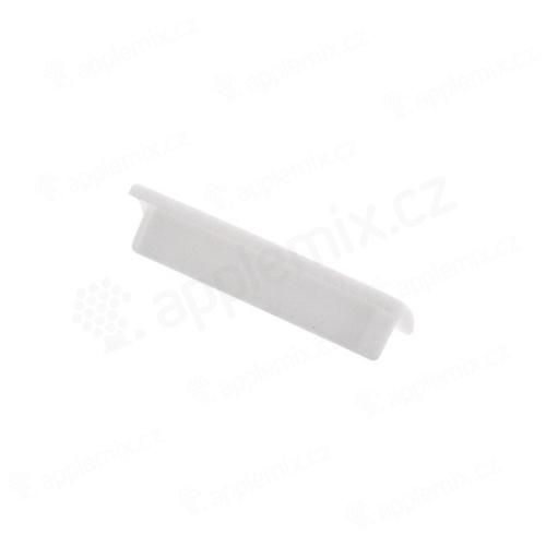 Antiprachová záslepka dock konektoru pro Apple iPad 2. / 3.gen. - bílá