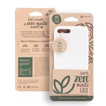 Kryt FORCELL BIO - pro Apple iPhone 7 Plus / 8 Plus - Zero Waste kompostovatelný kryt - přírodní