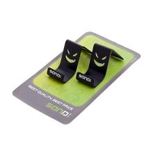 Stylový kovový stojánek pro Apple iPhone / iPod - černý
