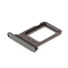 Rámeček / šuplík na Nano SIM pro Apple iPhone 11 Pro / 11 Pro Max -  šedý (Space Gray) - kvalita A+