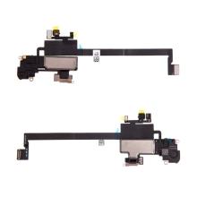 Horní reproduktor / sluchátko + flex kabel senzoru přiblížení (proximity) pro Apple iPhone Xs Max - kvalita A+