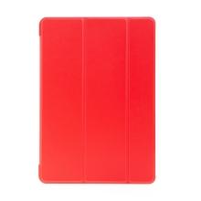 """Pouzdro / kryt pro Apple iPad 10,2"""" (2019 - 2021) - funkce chytrého uspání - gumové - červené"""