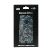 3D ochranná fólie pro Apple iPhone 5 / 5C - se vzorem trojúhelníků (přední + zadní)