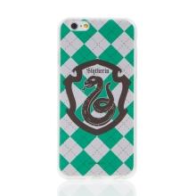 Kryt Harry Potter pro Apple iPhone 6 / 6S - gumový - emblém Zmijozelu