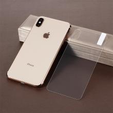 Tvrzené sklo (Tempered Glass)pro Apple iPhone Xs Max - na zadní část - 2,5D hrana - čiré - 0,3mm