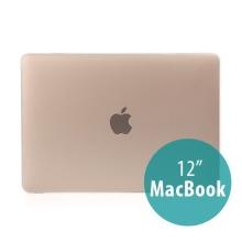 Tenký plastový obal / kryt pro Apple MacBook 12 Retina (rok 2015) - matný - bílý