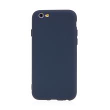 Kryt pro Apple iPhone 6 / 6S - příjemný na dotek - silikonový - tmavě modrý