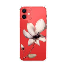 Kryt pro Apple iPhone 13 - gumový - lilie