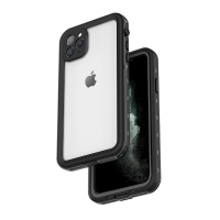 Pouzdro RedPepper Dot+ pro Apple iPhone 11 Pro Max - voděodolné - plastové - černé / šedé