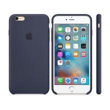 Originální kryt pro Apple iPhone 6 Plus / 6S Plus - silikonový - půlnočně modrý