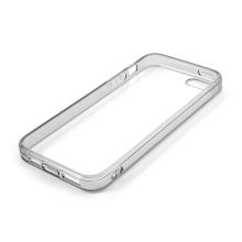 Ochranný plasto-gumový kryt s antiprachovou záslepkou pro Apple iPhone 5 / 5S / SE