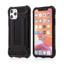 Kryt FORCELL Armor pro Apple iPhone 11 Pro Max - plastový / gumový - černý