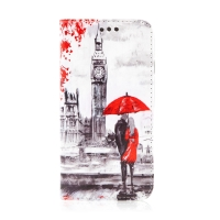 Pouzdro pro Apple iPhone 7 / 8 - umělá kůže - milenci v Londýně