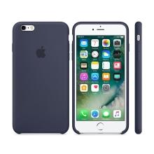 Originální kryt pro Apple iPhone 6 / 6S - silikonový - půlnočně modrý